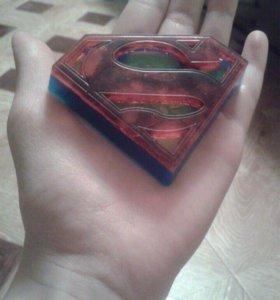 """Мыло ручной работы""""Супермен"""""""