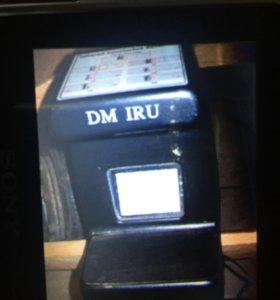 Аппарат для проверки подлинности денежных средств