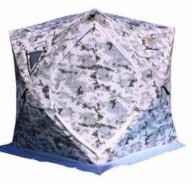 Палатка зимняя Куб утеплённая 3 слоя цифра