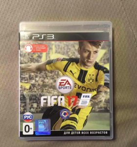 Диск FIFA 17 PS3