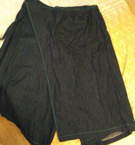 Брюки- юбка/Кюлоты 54-56-58 размер