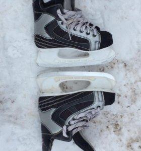 Коньки хоккейные Atemi 37 размер