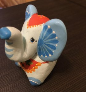Слон-свистулька