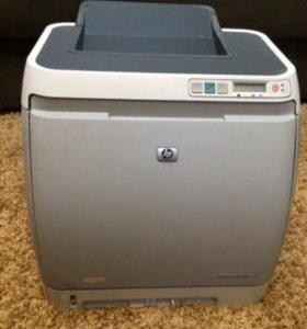 Цветной лазерный принтер hp color laser jet 1600