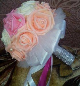 Свадебный букет муляж  для невесты