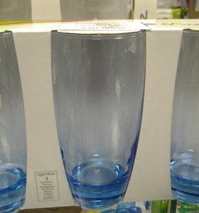 стаканы 3шт. 300мл