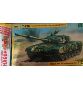 Т-72Б сборная модэль