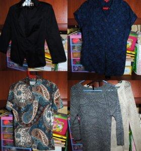 Кофты, рубашка, пиджак