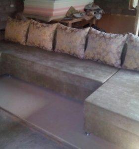 Угловой, диван