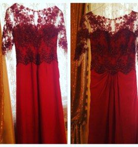 Вечернее платье размер 42-46