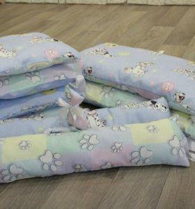 Бортики и одеяло на выпеску