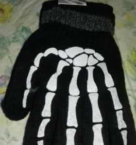 Детские перчатки шерсть НОВЫЕ