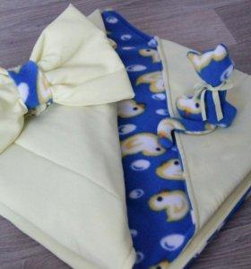 Одеяло на выписку и дальнейшего использования