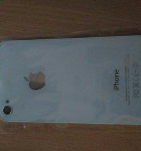 Задняя панель для iPhone 4/4s (белая)