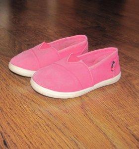 Текстильные туфли р. 25
