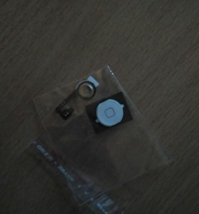 Кнопка для iPhone 4/4s (белая)