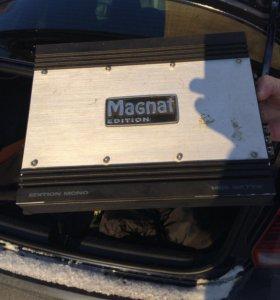 Магнитола Alpine + саб Alpine +ус Magnat
