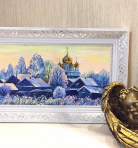 """Картина """"Зимнее утро"""""""