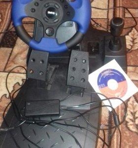 РульDialog GW-21FB Ралли спорт2 USB