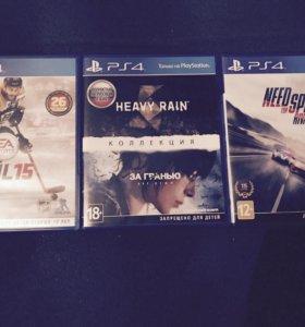 Диски для Sony Playstation 4.