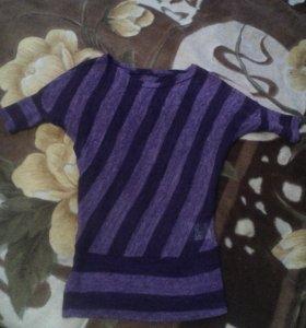 Легкая блуза,прозрачная