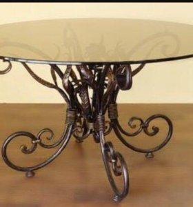 Кованные столы