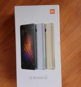 Телефон Xiaomi Redmi Not 4
