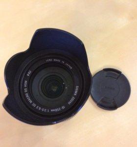 Sigma AF 18-250mm f/3.5-6.3 DC OS HSM Canon EF-S