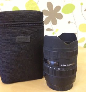 Sigma 8-16mm f/4.5-5.6 dc hsm для Canon