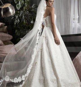 Свадебное платье кружевное Daria Karlozi