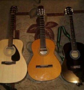 Обучения игры на гитаре