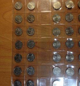 Монеты 1 копейка ,5 копеек