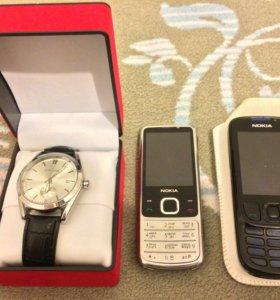 Nokia 6700 ;6300; механические часы