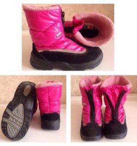 Зимние ботинки scandia tex р. 25
