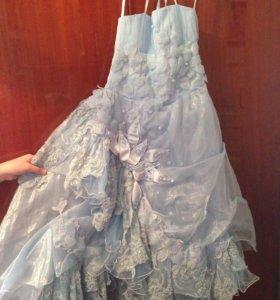 Платье нарядное 5-9 лет.