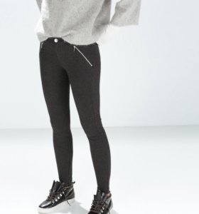 Новые брюки леггинсы Zara