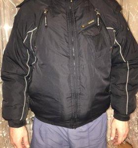Куртка мужская, бу, 54-56.