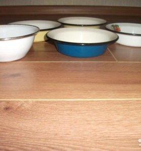 Тарелки эмалированные