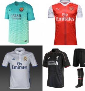 Формы европейских клубов 2017
