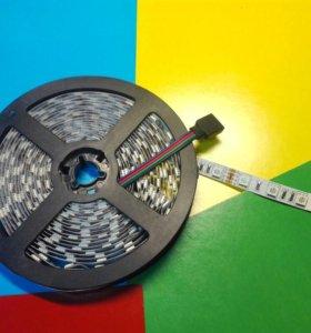 RGB Led лента 60 светодиодов/метр