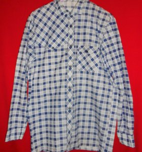 Хлопковая винтажная рубашка