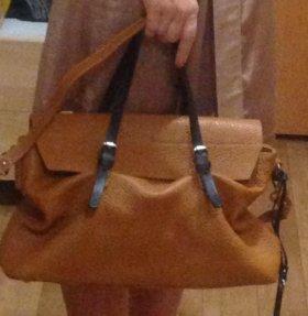 Новая итальянская сумка GIANNI CHIARINI