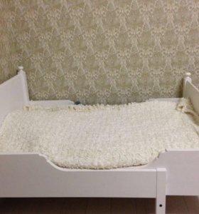 Кровать икеа,срочно!!!!!