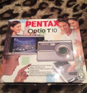 Фотоаппарат Pentax с сенсорным экраном