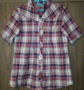 Рубашка для девочки 💫