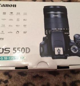 Зеркальный фотоаппарат canon 550d Ef-s 18-135 is