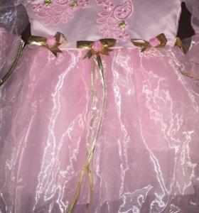 Нарядное платье, 2-3 года