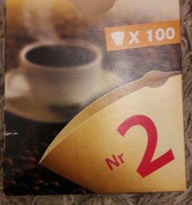 Фильтры для кофе 100шт