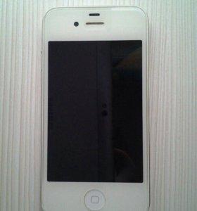 iPhone 4,8 Gb,white