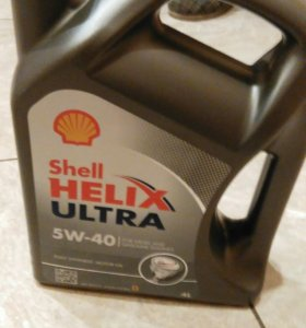 Масло Shell Helix Ultra 5w-40